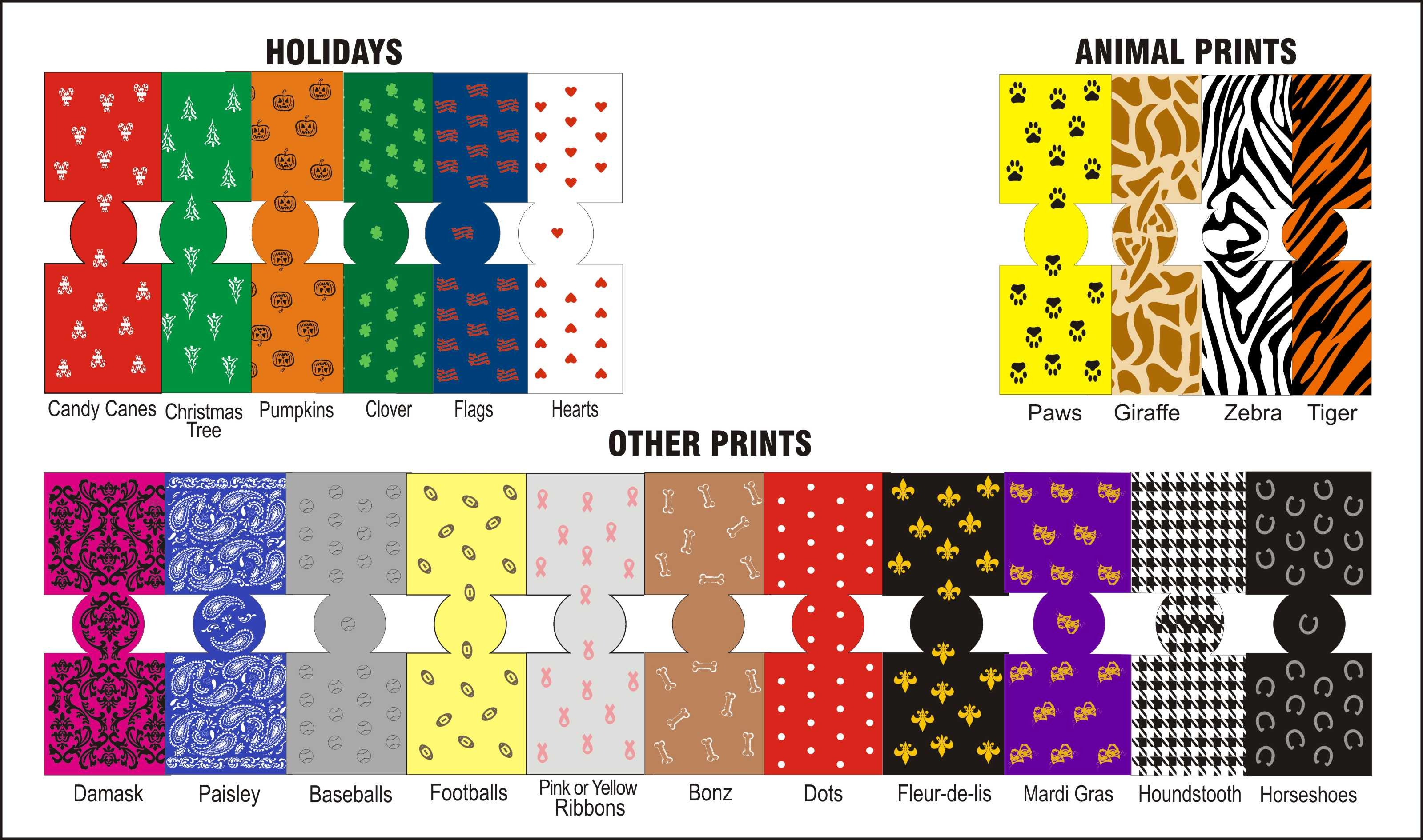 koozie or coozie pattern chart